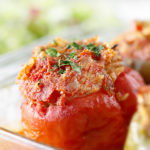 Turkey Stuffed Bell Peppers.  Healthy Recipe!