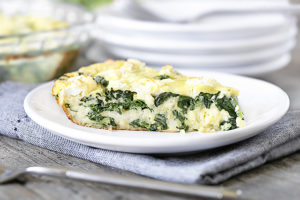 Spinach and Feta Quiche | Weight Watchers Recipe