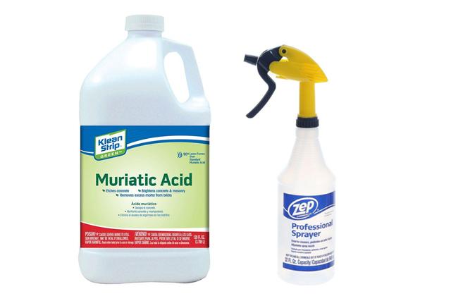 How to make rusty metal ornaments? Muriadic Acid