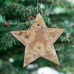 DIY Rusty Metal Ornaments