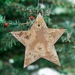 DIY Rusty Metal Ornaments
