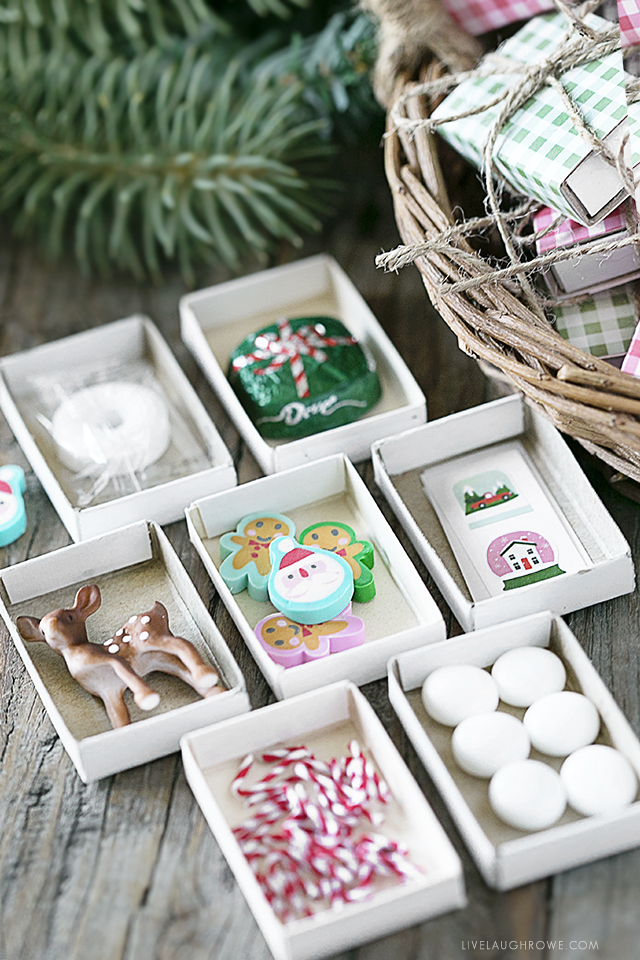 Seriously ADORABLE Matchbox Advent Calendar. Simple enough that it can be pulled off in a time crunch too. FREE Printables to boot. livelaughrowe.com