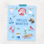 Hello Winter Printable