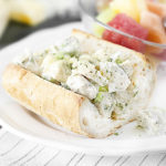WW Chicken Salad Melt Sandwich with Tarragon