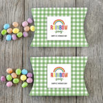 St. Patrick's Day Gift Box and Rainbow Printable