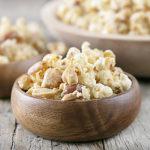 Homemade Popcorn 'n Peanuts | Sweet + Salty Snack
