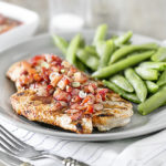 Strawberry Salsa over Grilled Chicken | WW Recipe