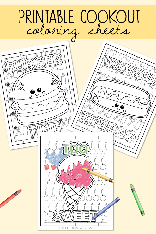 Summer Coloring Pages For The Kiddos - Live Laugh Rowe