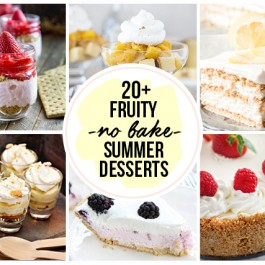 Over TWENTY amazing and easy No Bake Desserts for Summer. The only question is which one will you try first!?! livelaughrowe.com