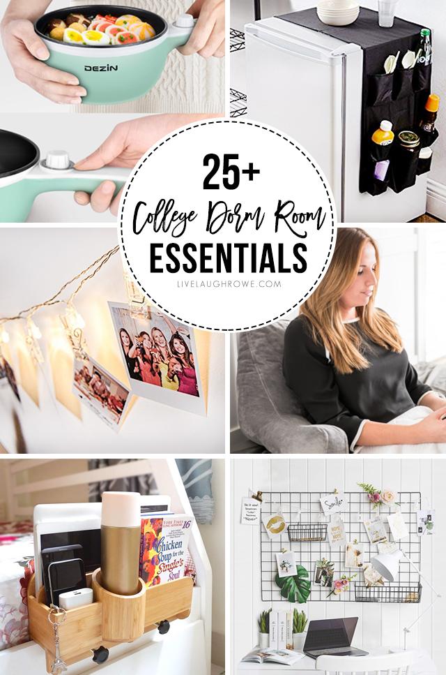 25+ College Dorm Room Essentials - Live Laugh Rowe