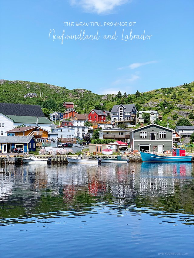The beautiful province of Newfoundland and Labrador. More at livelaughrowe.com #canada #travel #newfoundland