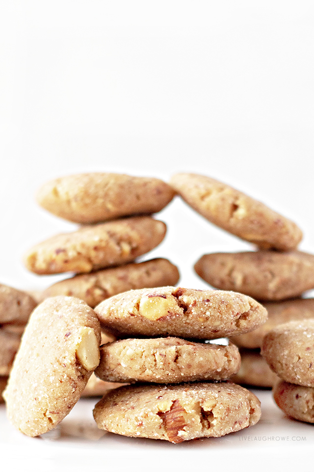 Keto Peanut Butter No-Bake Cookies