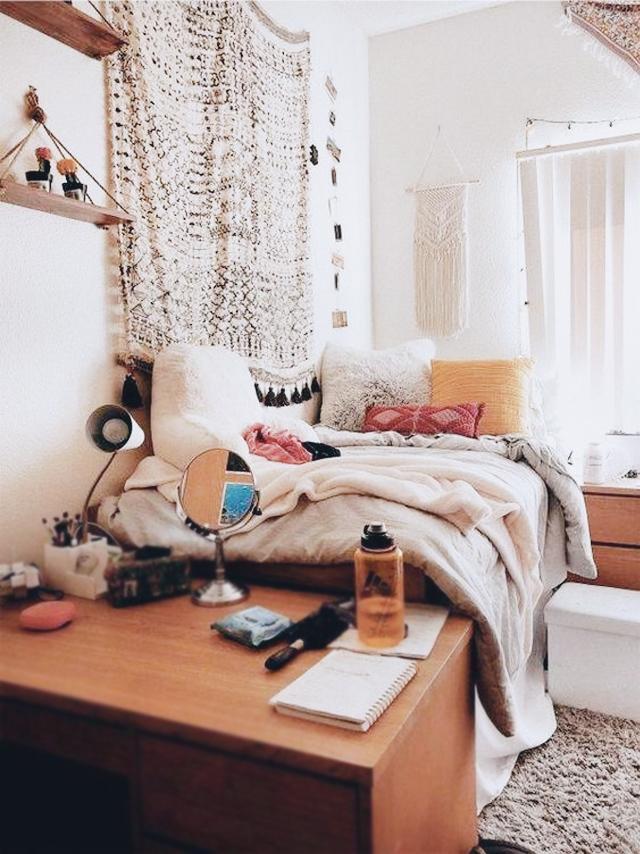 Eclectic College Dorm Decor