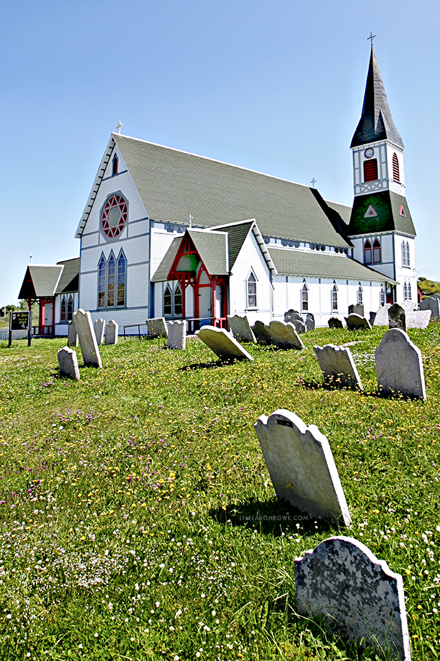 St. Paul's Anglican Church in the beautiful and quaint town of Trinity in Newfoundland and Labrador, Canada. More pics at livelaughrowe.com