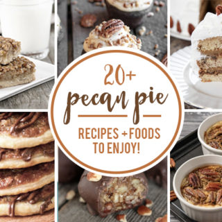 Collage of Pecan Pie Food Pictures