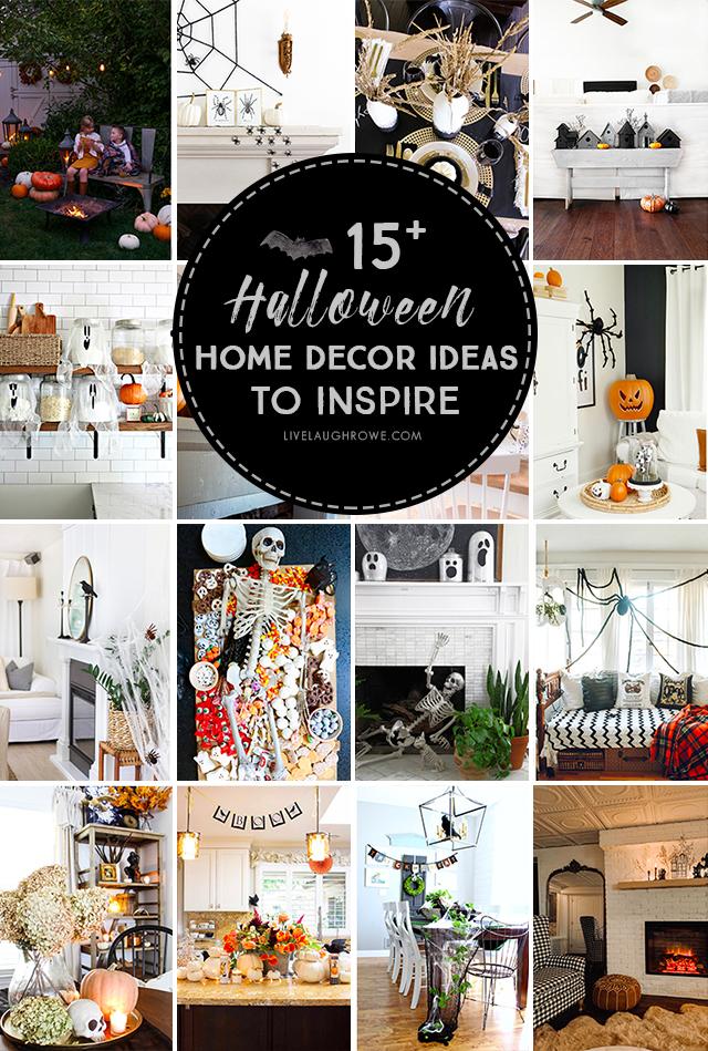 Diy Halloween Vignette Using Birdhouses Live Laugh Rowe