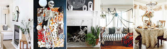 Beautiful Halloween Vignettes