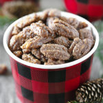 Slow Cooker Candied Pecans | Holiday Treat