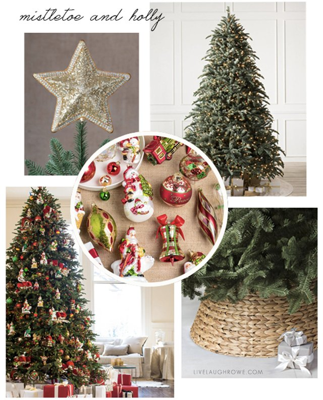 Christmas Tree Vision Board