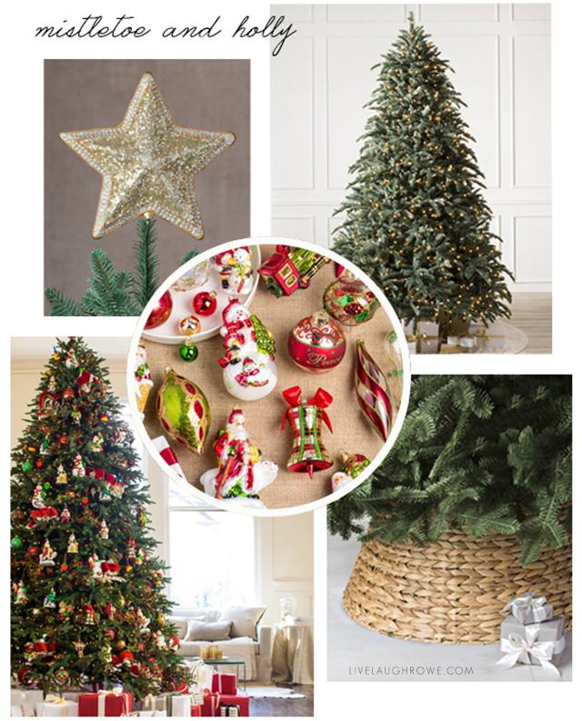 Christmas Tree Vision Board