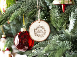 Ornament Hanging on Tree