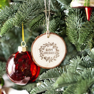 Ornament Hanging on Tree