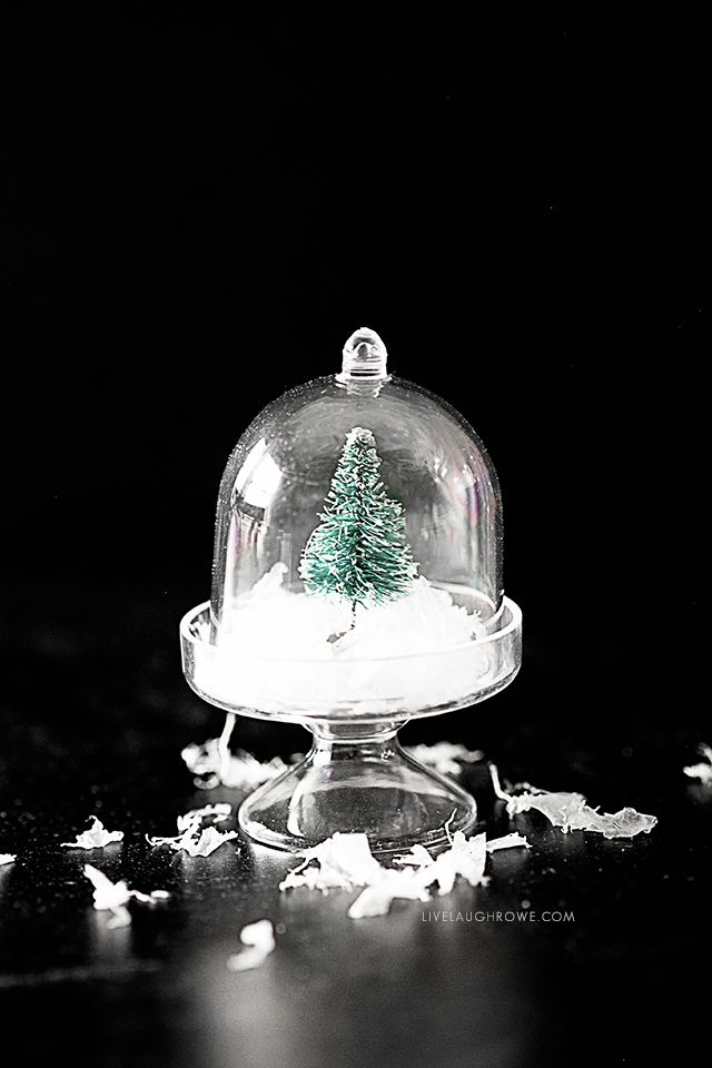 Dome Snow Globe Ornament