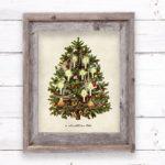 O Christmas Tree Printable | 8×10