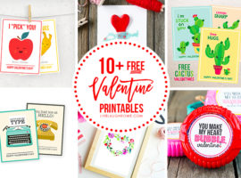 Free Valentine Printables Collage