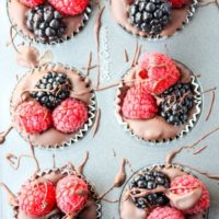 Chocolate Berry Cups