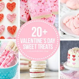 Collage of Valentine's Day Desserts
