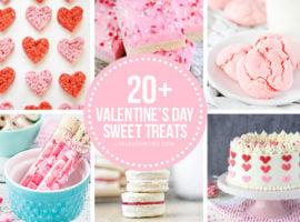 Collage of Valentine's Day Desserts