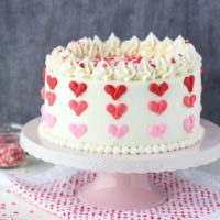 Easy Valentines Day Cake