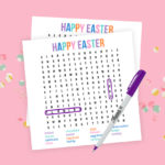 Easter Word Search | Printable Game