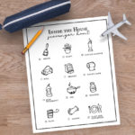 Indoor Scavenger Hunt Printable