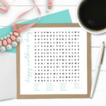 Mother's Day Word Search | Printable Word Game