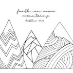 Coloring Pages with Scripture | Free Printables