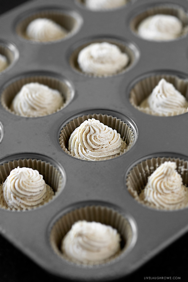 Whips in Muffin Pan