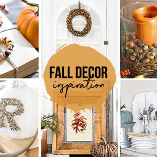 Fall Home Decor Collage