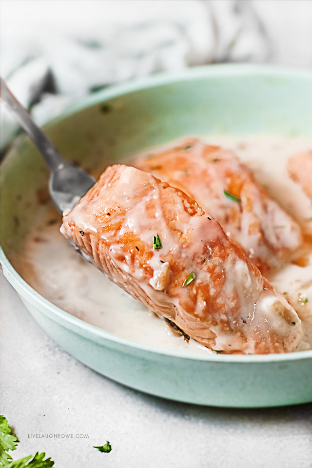 Creamy Salmon