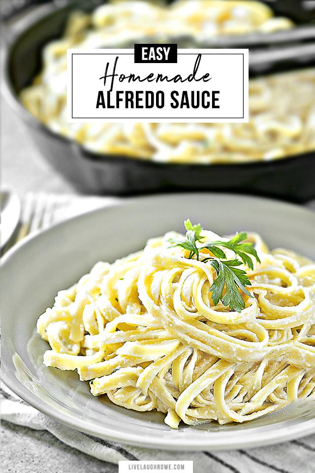 Homemade Alfredo Sauce Recipe