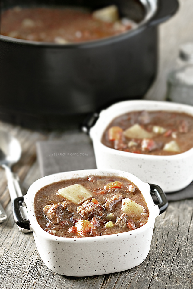 Bowls of Oven Beef Stew