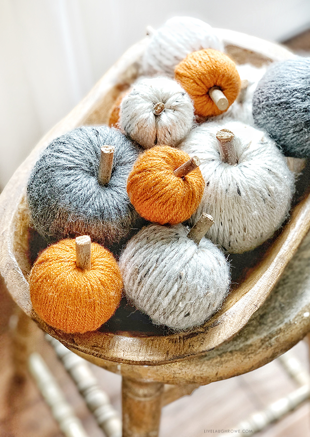 Yarn Pumpkins