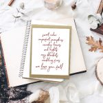 Reasons to Love Fall | Free Printable