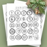 Christmas Coloring Page | Advent Countdown