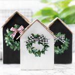Wood House Housewarming Gift