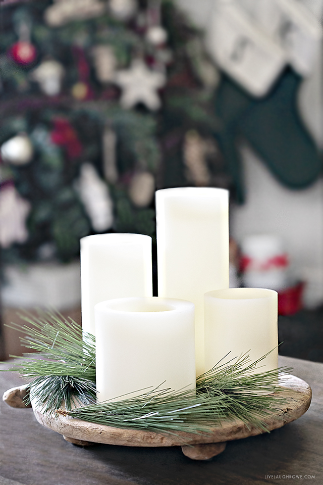 Simple Christmas Home Decor