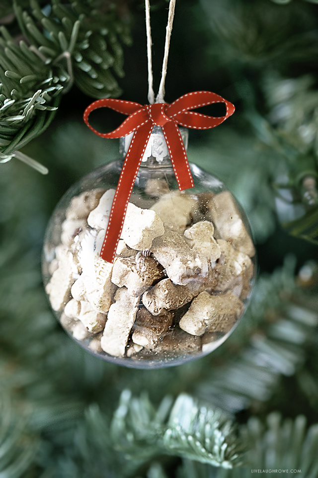 Dog Treat Ornament