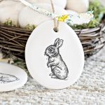 Polymer Clay Ornaments for Easter