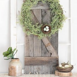 Wreath with Nest and Eggs